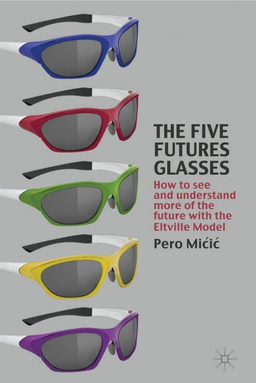 Book cover: The Five Futures Glasses