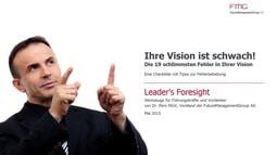 Die 19 schlimmsten Fehler in Ihrer Vision